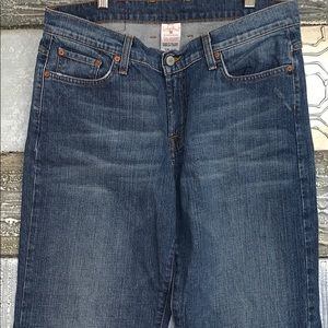 Lucky Brand rider relaxed fit Jeans- 14/32